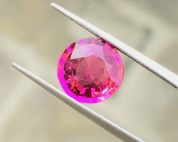 2.05 Ct Natural Pinkish Transparent Tourmaline Gemstone
