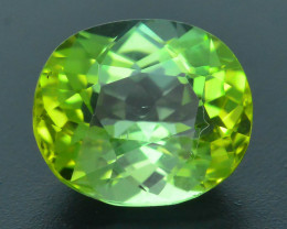 AAA Grade 2.46 ct Afghan Lime Green Tourmaline Sku-33