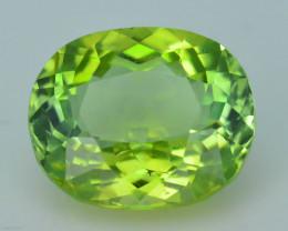 AAA Grade 3.19 ct Afghan Lime Green Tourmaline Sku-33