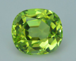 AAA Grade 1.96 ct Afghan Lime Green Tourmaline Sku-33