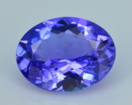 Tanzanite 1.53 ct eye catching Color SKU.14