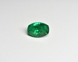 7.07 Carat Vivid Green Panjshir Emerald (AGL Certified)