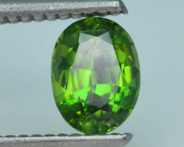 Rare 1.46 ct Green Zircon Great Luster Unheated Cambodia SKU.7