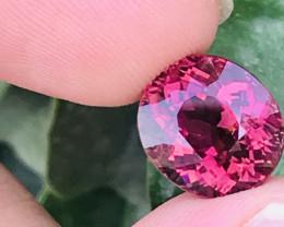 9.50 Carats  Natural Rubellite/PINK Tourmaline Gemstone
