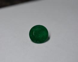 7.62 Carat AGL Certified Intense  Green AFGHAN (Panjshir) Emerald!