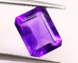 2.20ct Purple Amethyst Octagon Cut Lot V4581