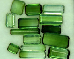 14 CT Beautiful Green Color Natural Tourmaline Gemstone