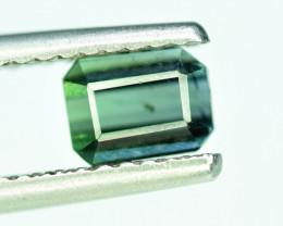 SALE 1.45 CT Top Quality Bi-Color Indicolite Tourmaline Gemstone
