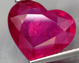 5.04 Cts. Top Quality Blood Red Natural Ruby Madagascar Gem