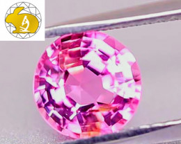 """LOUPE-CLEAN! NR! """"Padparadscha Color"""" Mahenge Spinel - FREE DHL EXPRESS!"""