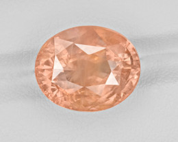 Padparadscha Sapphire, 13.05ct - Mined in Sri Lanka | Certified by GRS
