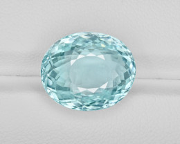 Paraiba Tourmaline, 12.28ct - Mined in Mozambique | Certified by GIA