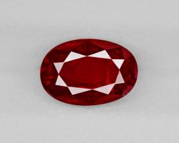 Ruby, 1.46ct - Mined in Burma | Certified by GRS