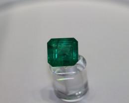 2.80 Carat Dark Green Zambian Emerald!