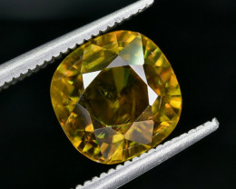 4.27 Crt Natural Sphene Faceted Gemstone AB(23)