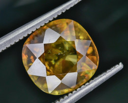 3.92 Crt Natural Sphene Faceted Gemstone AB(23)