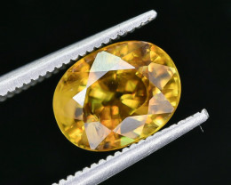 3.45 Crt Natural Sphene Faceted Gemstone AB(23)