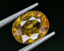 2.33 Crt Natural Sphene Faceted Gemstone AB(23)