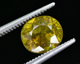 2.55 Crt Natural Sphene Faceted Gemstone AB(23)