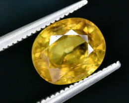 2.57 Crt Natural Sphene Faceted Gemstone AB(23)