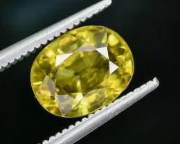 2.79 Crt Natural Sphene Faceted Gemstone AB(23)