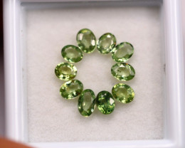 2.20Ct Natural Greenish Sapphire Oval Cut Lot LZB639