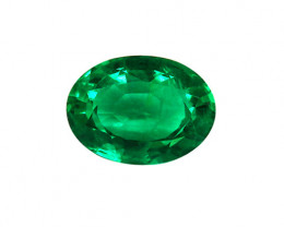 2.32 ct Top Of The Line Emerald Certified!