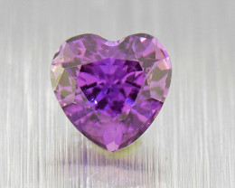 Natural Unheated Sapphire HEART .50ct ,well-cut rich colour (01603)