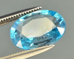 AAA Brilliance 3.60 ct Blue Zircon Cambodia