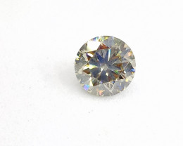 0.705ct  Fancy Light yellowish Green Diamond , 100% Natural Untreated