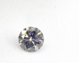 0.725ct  Fancy Light bluish Green Diamond , 100% Natural Untreated