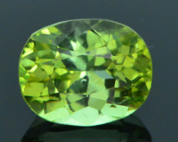 AAA Grade 1.64 ct Afghan Lime Green Tourmaline Sku-33