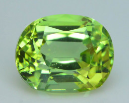 AAA Grade 1.33 ct Afghan Lime Green Tourmaline Sku-33