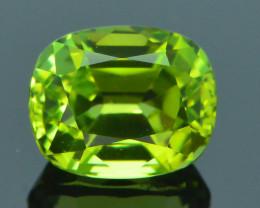 AAA Grade 1.24 ct Afghan Lime Green Tourmaline Sku-33