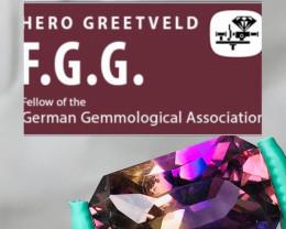 GGA-  ct AMETRINE - PURPLE-GOLD-BOLIVIEN-BEST QUALITY VVS