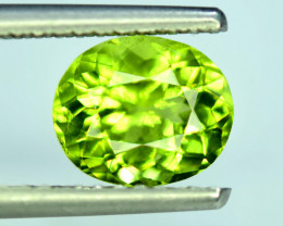 2.40 Carats Natural Olivine Green Natural Peridot Gemstone