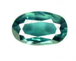 0.90 Carats Natural Blue Tourmaline Gemstone