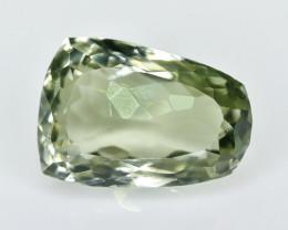 9.98 Crt Prasiolite Green Amethyst Faceted Gemstone (R13)