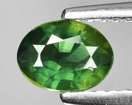 0.72 Ct Green Sapphire Top Quality  Gemstone. YGS 04