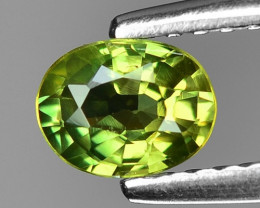 0.59 Ct Yellow Sapphire Top Quality  Gemstone. YGS 06