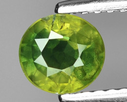 0.80 Ct Yellow Sapphire Top Quality  Gemstone. YGS 07