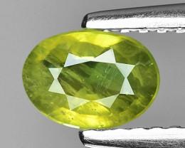 0.60 Ct Yellow Sapphire Top Quality  Gemstone. YGS 08