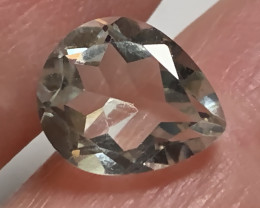 3.12ct  LOVELY OVAL CUT GREEN AMETHYST  PRASIOLITE NR