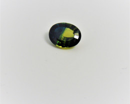 Parti  3 color Sapphire Gemstone