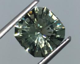 2.48 Carat VVS Prasiolite/Amethyst Master Cut Stunning Flash and Quality !