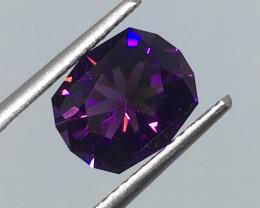 2.09 Carat VVS Amethyst Uruguay Master Cut Fabulous  Purple Quality !