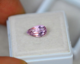 2.18ct Natural Pink Kunzite Pear Cut Lot D415