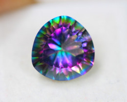 5.84ct Natural Mystic Topaz Pear Cut Lot V7485