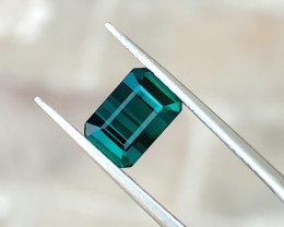 2.30 Ct Natural Blueish Transparent Tourmaline Gemstone