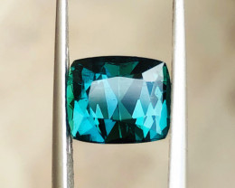 2.95 Ct Natural Blueish Transparent Tourmaline Gemstone